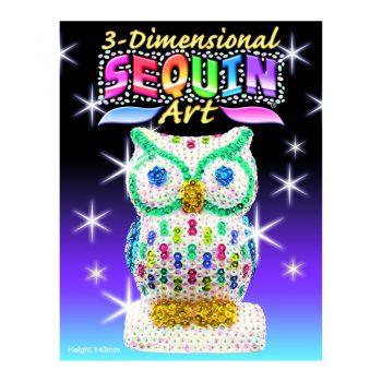 310 – 3D Sequin Art Owl