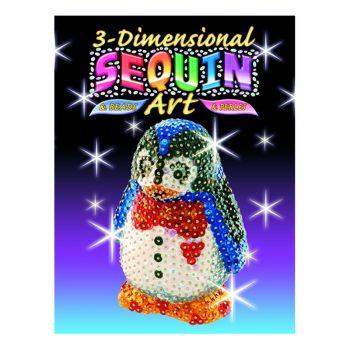 310 – 3D Sequin Art Penguin