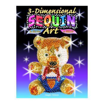 310 – 3D Sequin Art Teddy